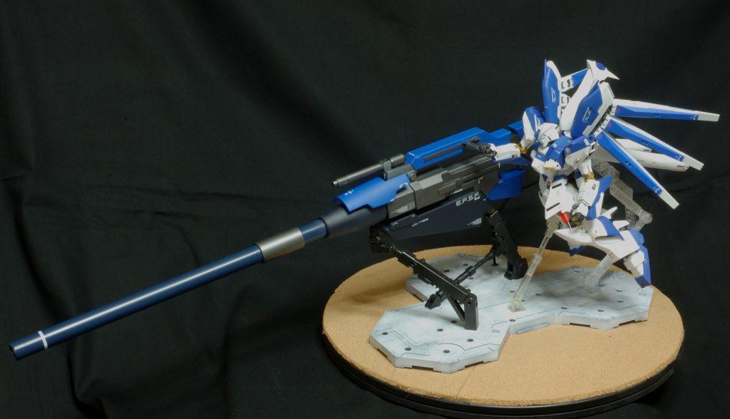 マスターグレード Hi-νガンダム(HWS) ハイパーメガバズーカランチャー装備型 アピールショット6