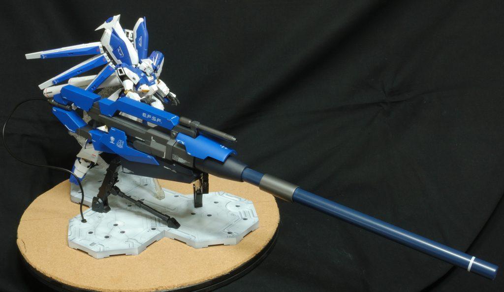 マスターグレード Hi-νガンダム(HWS) ハイパーメガバズーカランチャー装備型 アピールショット7