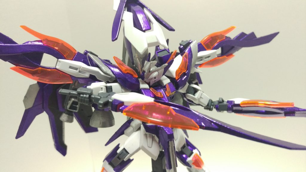 ウイングガンダムゼロ-紫炎- アピールショット3
