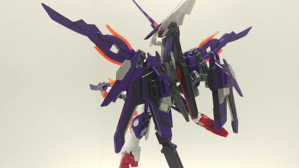 ウイングガンダムゼロ-紫炎- アピールショット2