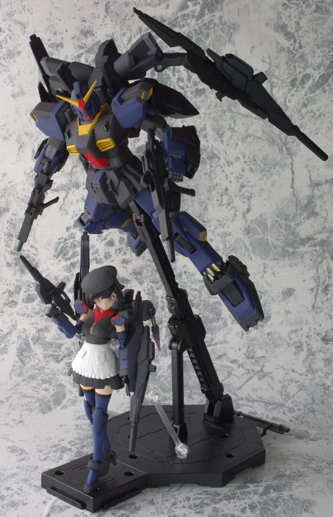 ビルドガンダム MKⅡ ティターンズ Ver.アヤメ with ダイバーアヤメティターンズメイドVer