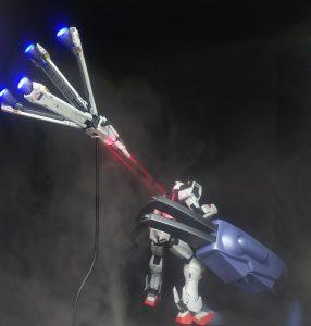ロボットが合体するときのレーザーのやつ