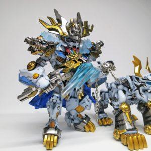 SDxHG Barbatos ice tiger armour