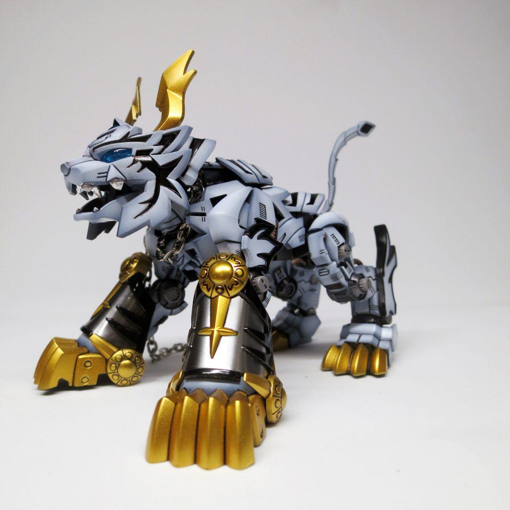 SDxHG Barbatos ice tiger armour 制作工程2