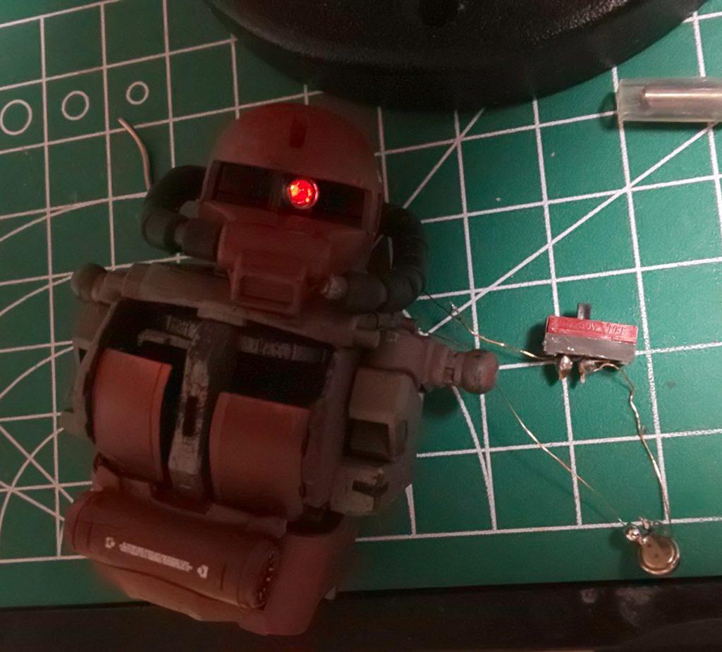 赤い稲妻⚡️ジョニー・ライデン!! 制作工程8