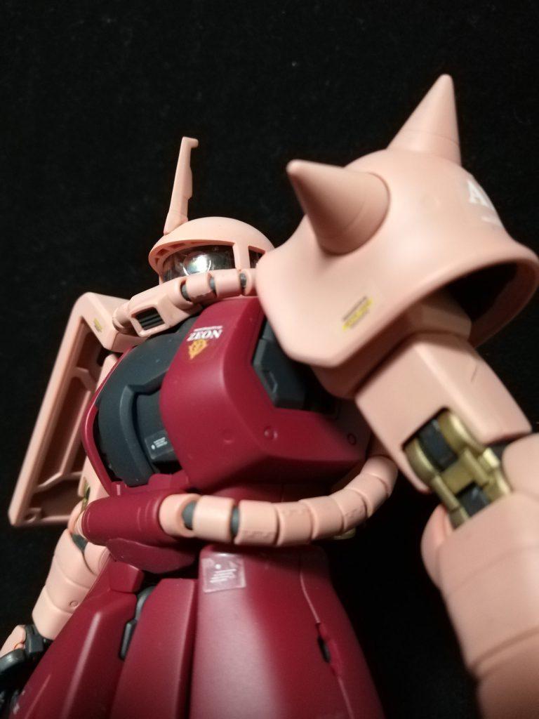 MG シャア専用ザク2Ⅱ アピールショット2