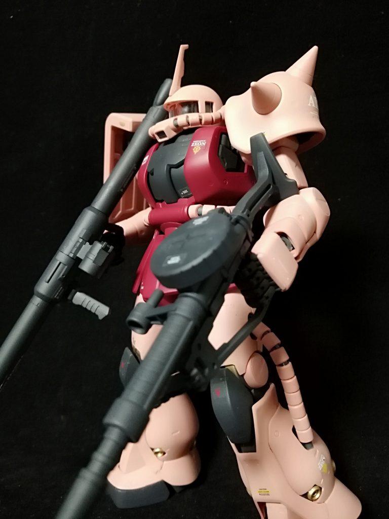 MG シャア専用ザク2Ⅱ アピールショット1