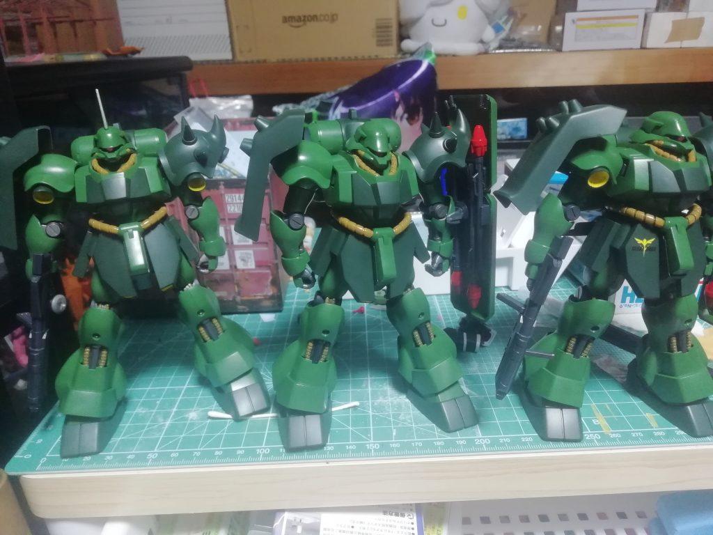ギラ・ドーガ 量産機 制作工程4