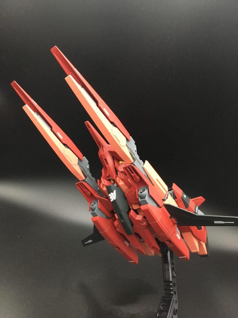 A-Zガンダム – 紅 – 制作工程1