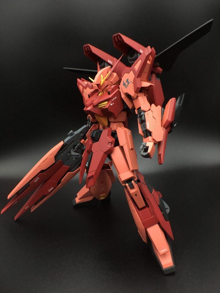 A-Zガンダム – 紅 – アピールショット1