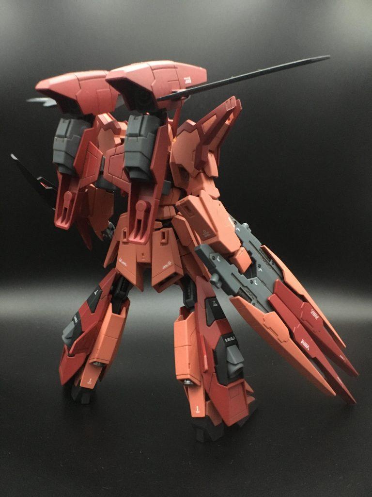 A-Zガンダム – 紅 – アピールショット2