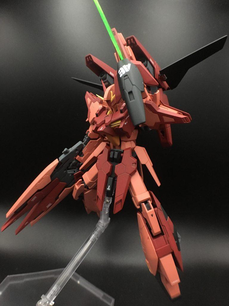 A-Zガンダム – 紅 – アピールショット5