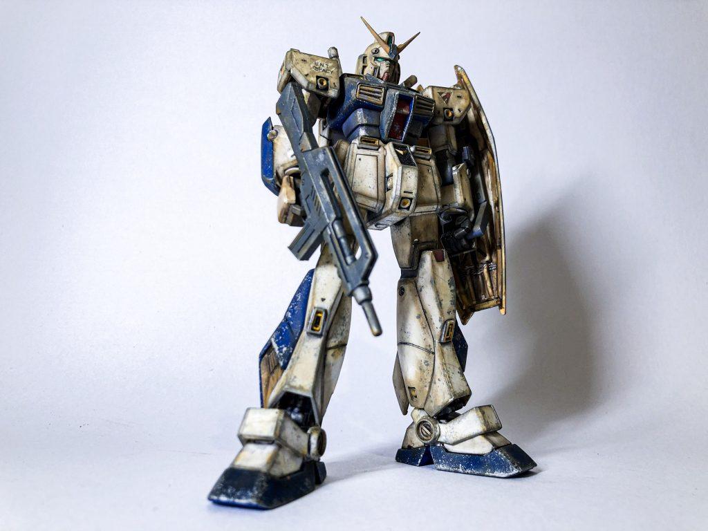 【ウェザリング】HG RX-78 NT-1