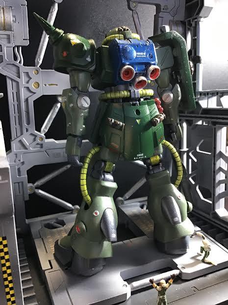 0080 ポケ戦 ザクⅡ FZ  バーニーザクロールアウトから最後闘いまで(T_T) アピールショット2