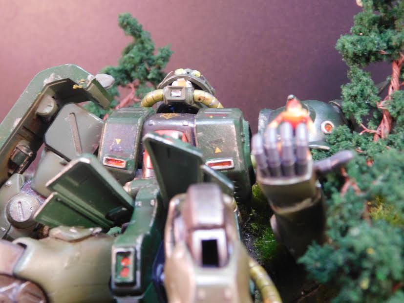 0080 ポケ戦 ザクⅡ FZ  バーニーザクロールアウトから最後闘いまで(T_T) アピールショット6