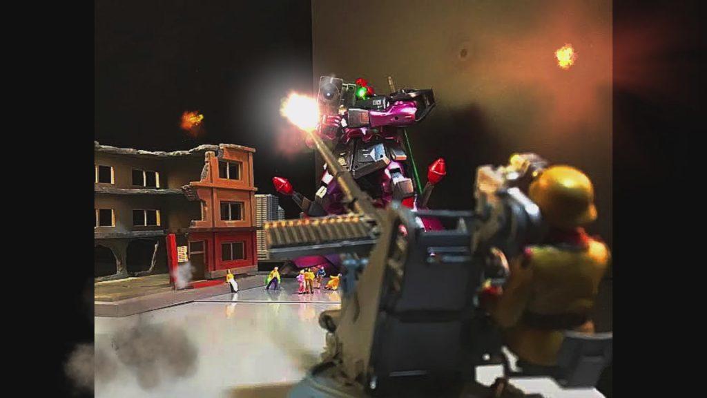 HG リックドムⅡ 改 0080 ピッカピカでコロニー強襲…w