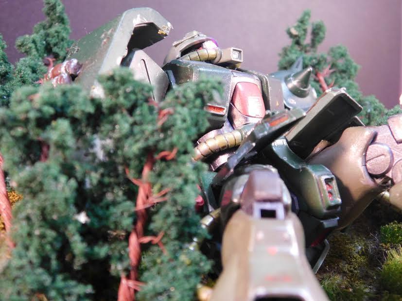 0080 ポケ戦 ザクⅡ FZ  バーニーザクロールアウトから最後闘いまで(T_T) アピールショット5
