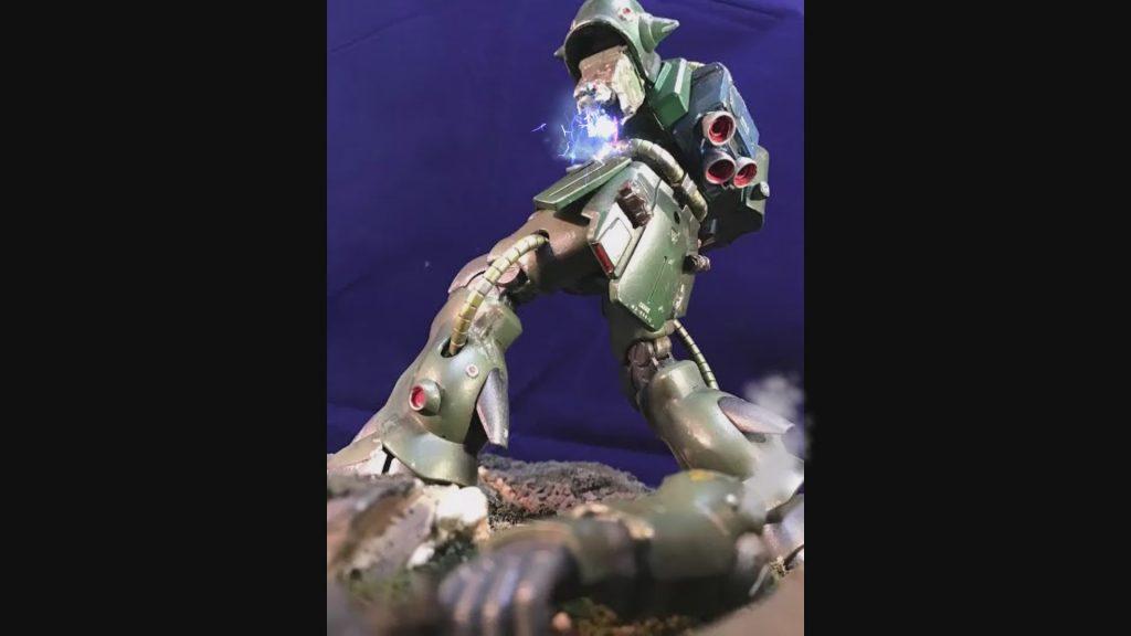 0080 ポケ戦 ザクⅡ FZ  バーニーザクロールアウトから最後闘いまで(T_T) アピールショット8
