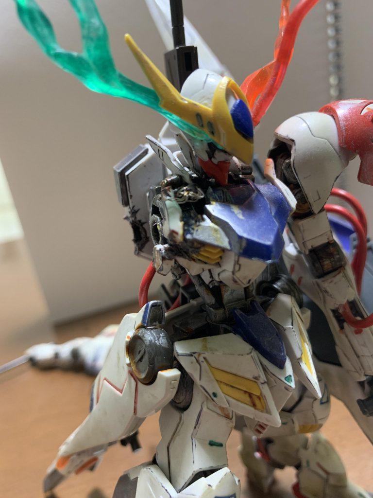 ガンダムバルバトスルプス~IF weapon~ 制作工程1