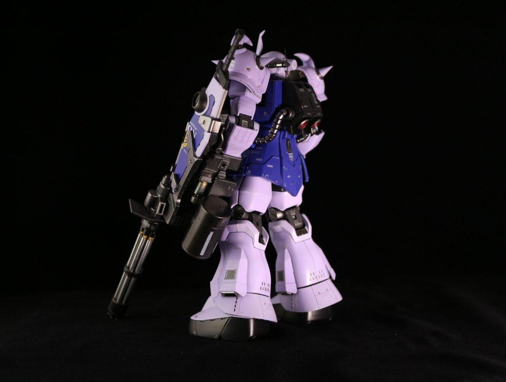 MG グフカスタム改 アピールショット2
