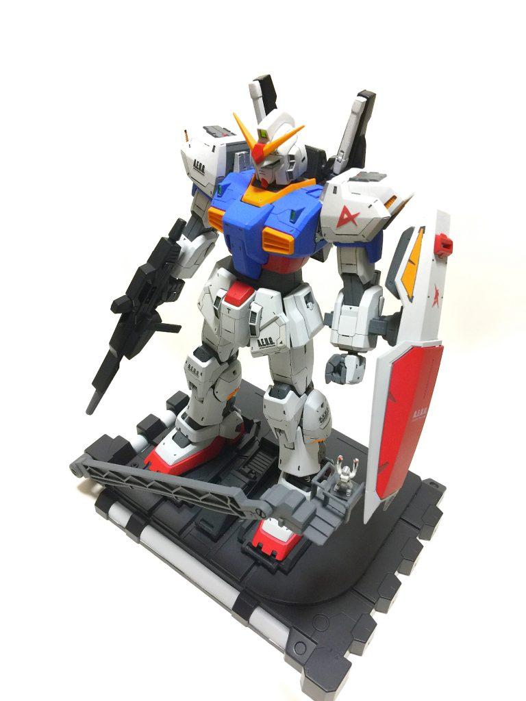 MG ガンダムマークII ver2.0 アムロ機 アピールショット4