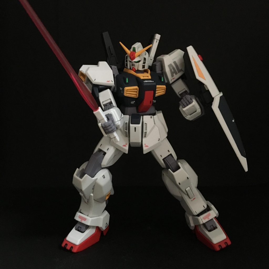 HGUC ガンダムMk-Ⅱ revive版 アピールショット2