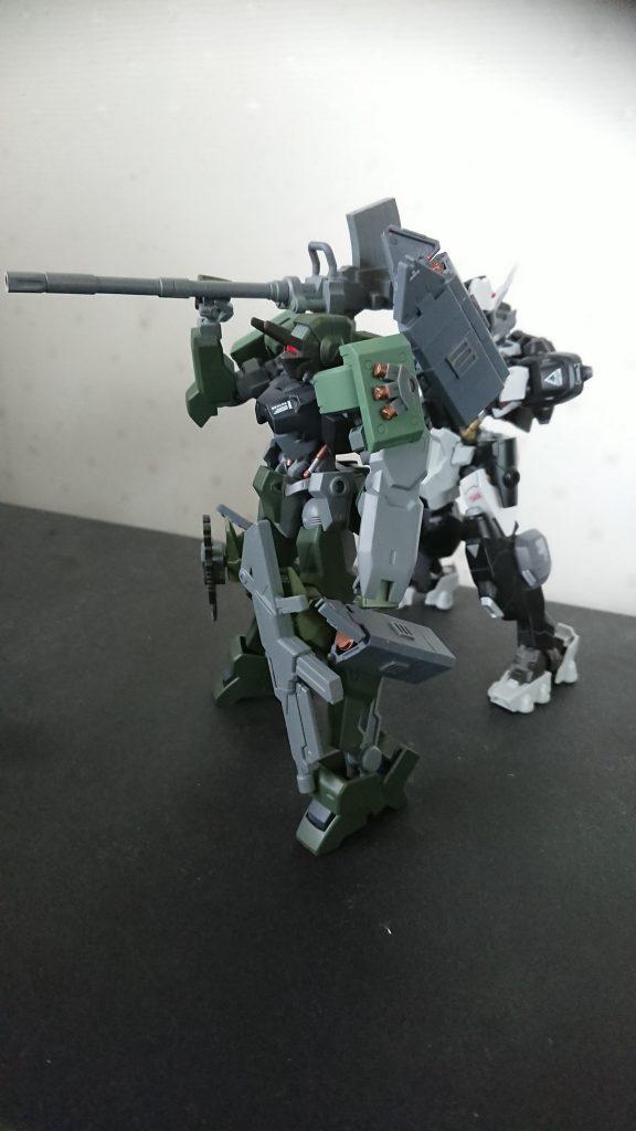 獅電 戦闘支援型 制作工程2