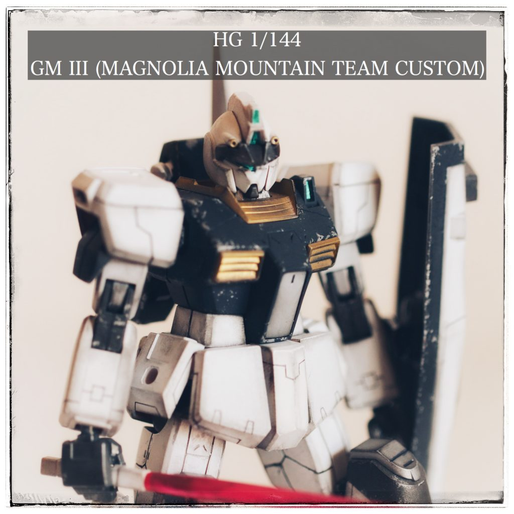 HG 1/144 ジムIII (マグノリア・マウンテン隊仕様)