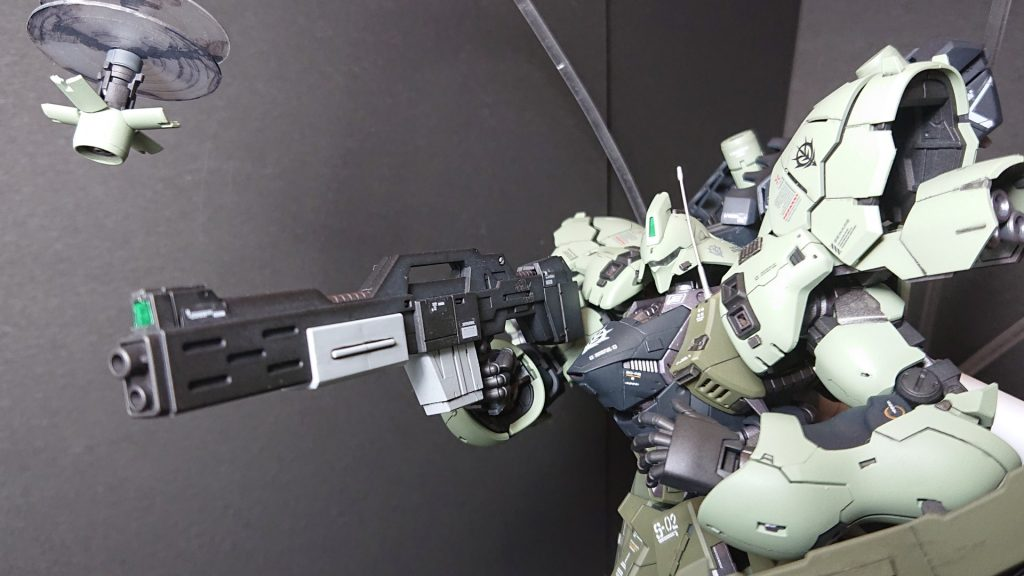 MSN-04B SAZABI S-02 【 ZEON Remnants ground-type】サザビー2号機 陸戦仕様 アピールショット3
