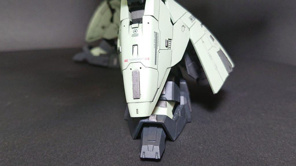 MSN-04B SAZABI S-02 【 ZEON Remnants ground-type】サザビー2号機 陸戦仕様 制作工程1