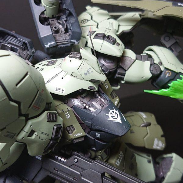 MSN-04B SAZABI S-02 【 ZEON Remnants ground-type】サザビー2号機 陸戦仕様