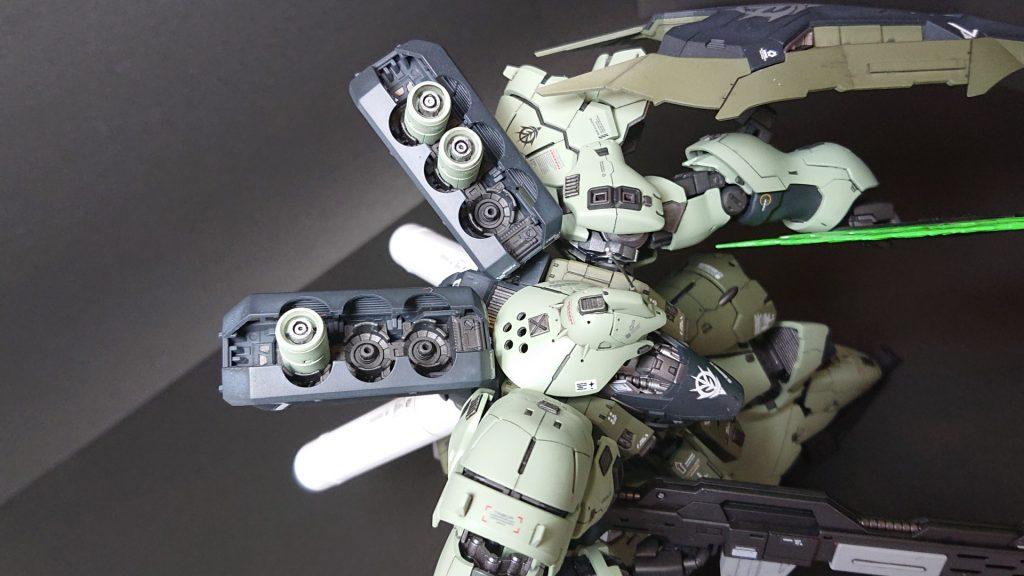 MSN-04B SAZABI S-02 【 ZEON Remnants ground-type】サザビー2号機 陸戦仕様 制作工程2
