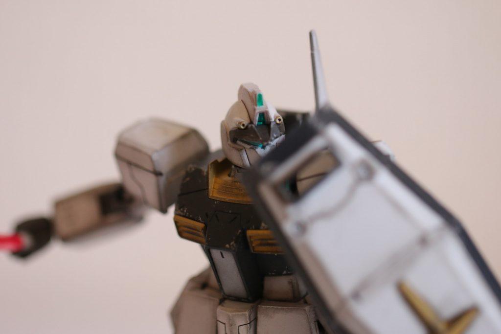 HG 1/144 ジムIII (マグノリア・マウンテン隊仕様) アピールショット4