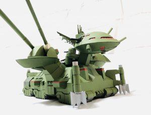 フルスクラッチ・ダブデ陸戦艇 (紙)