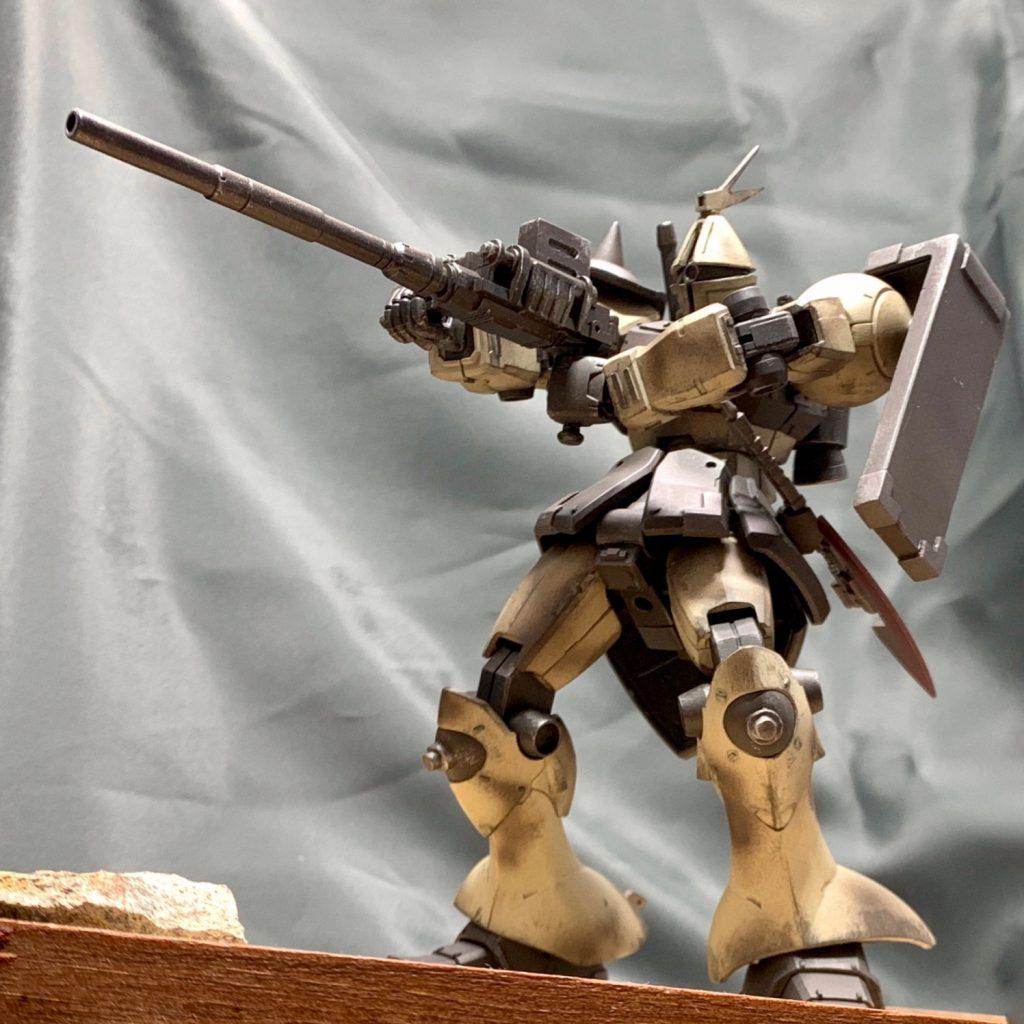 ギャン 陸戦型 アピールショット7