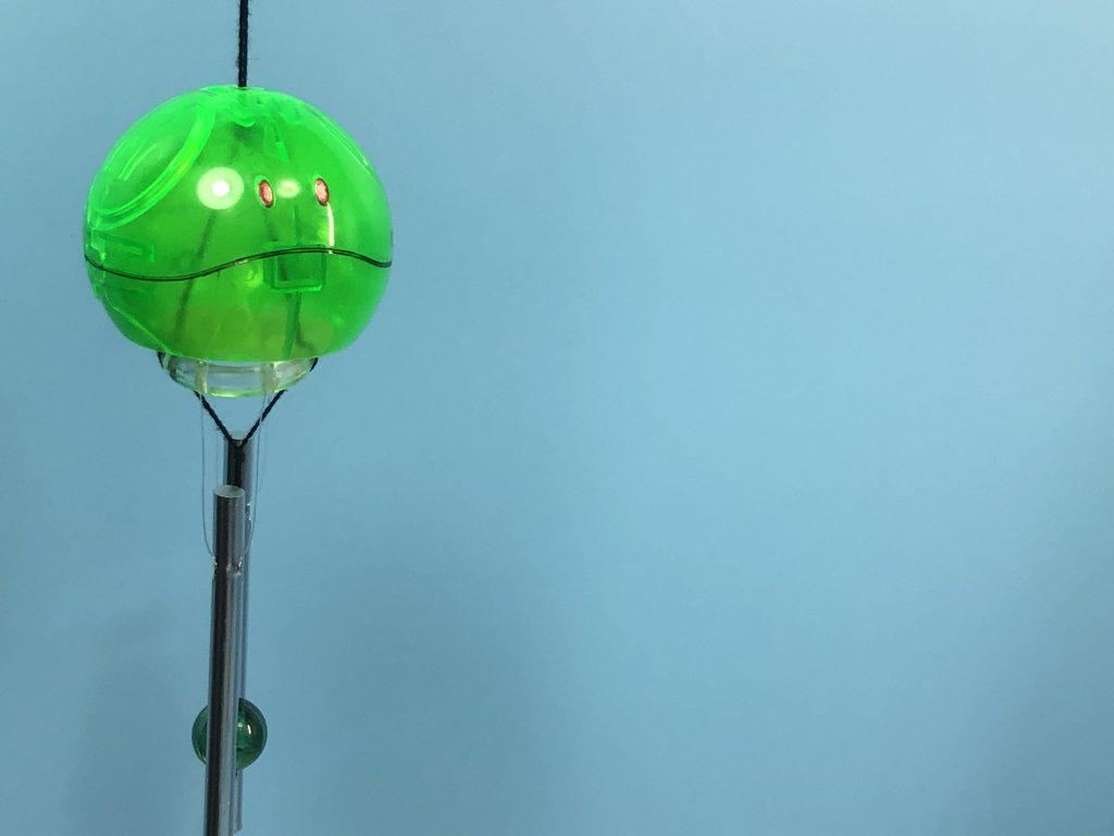 ハロプラ風鈴