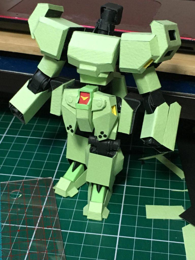 フルスクラッチ・SDスタークジェガン 制作工程3