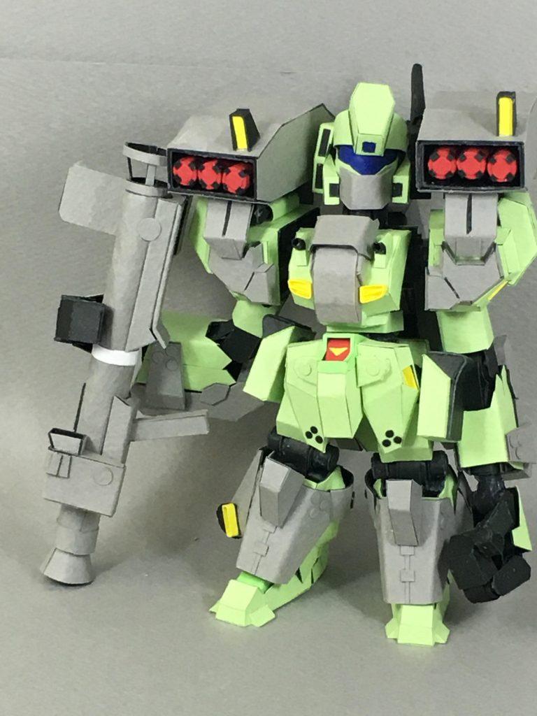 フルスクラッチ・SDスタークジェガン アピールショット1