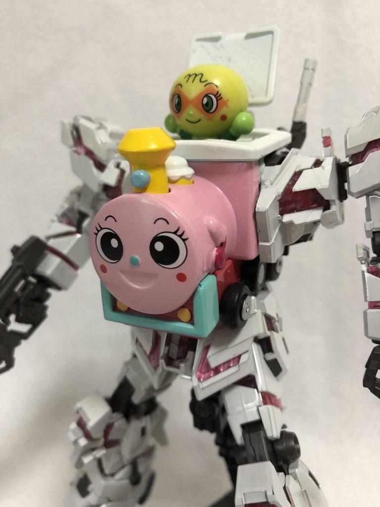 メロンパンナちゃんとポッポちゃん(デストロイモード)