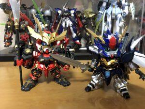 赤武者ストレイ&シナンジュ・0