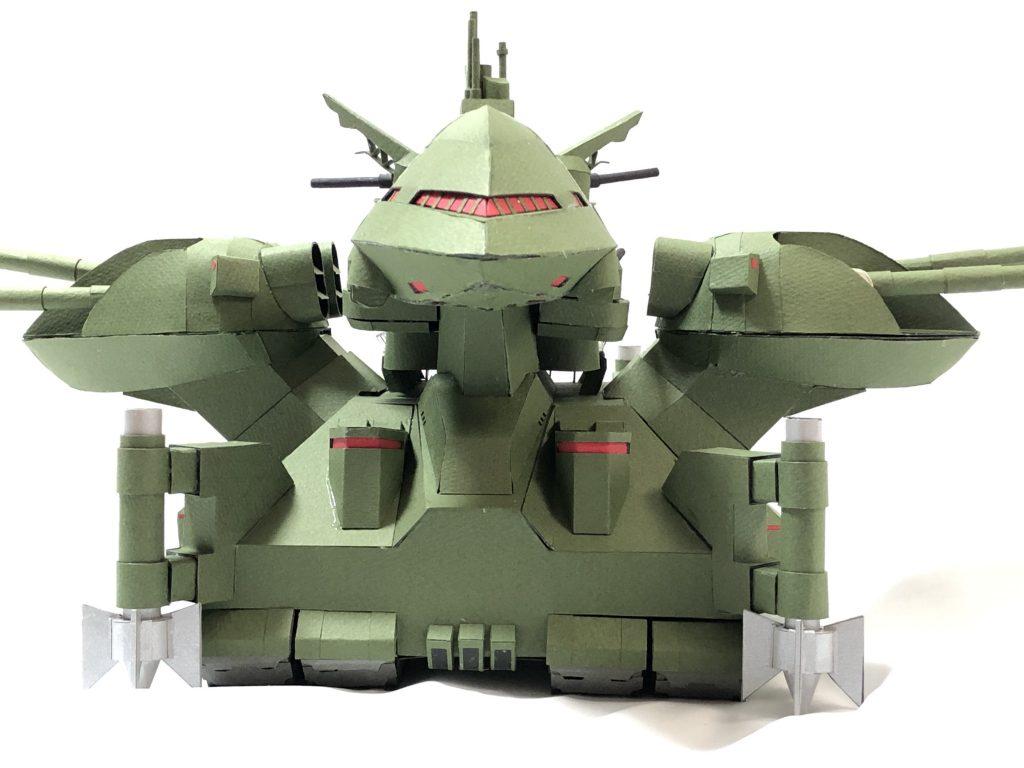 フルスクラッチ・ダブデ陸戦艇 (紙) アピールショット1