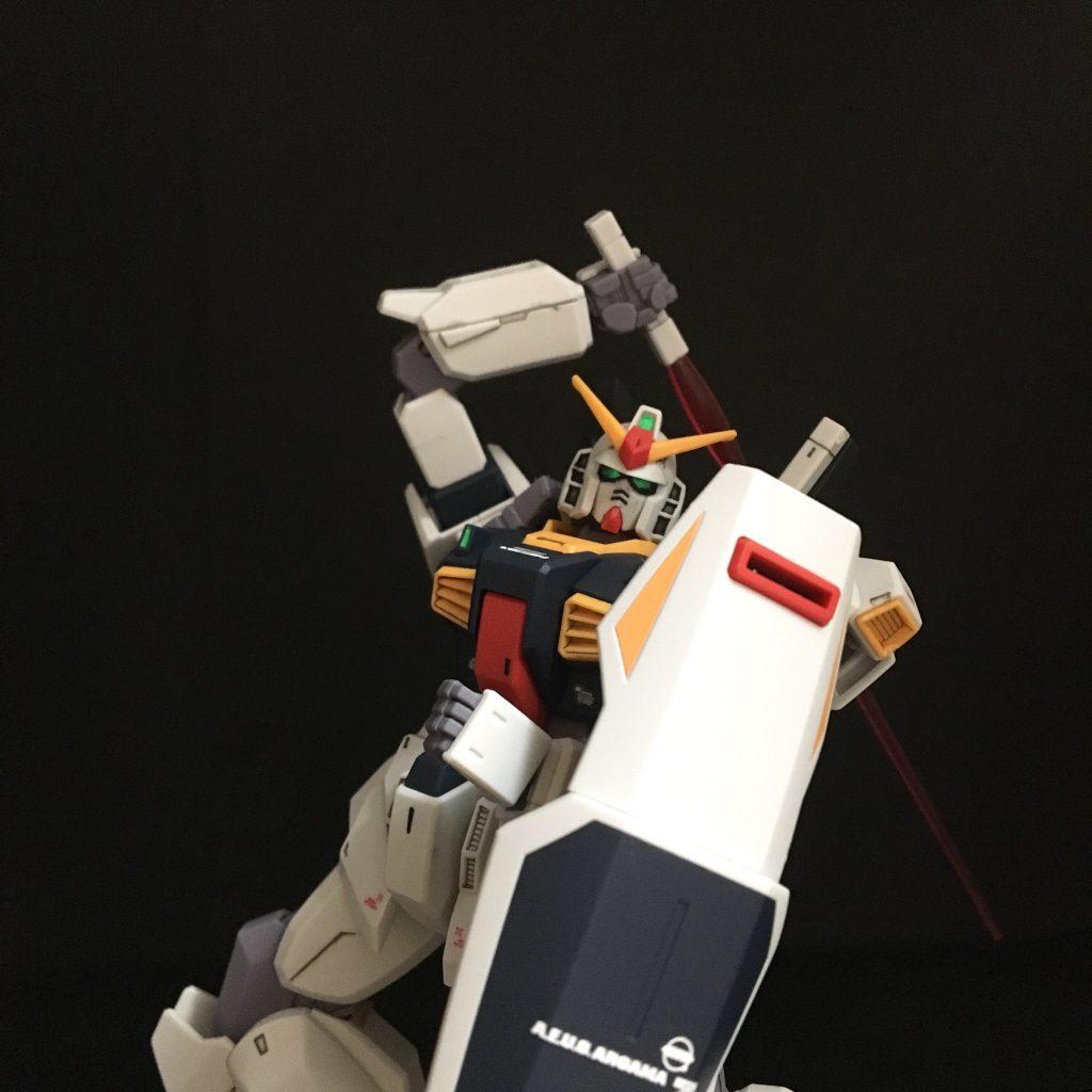 HGUC ガンダムMk-Ⅱ revive版 アピールショット1