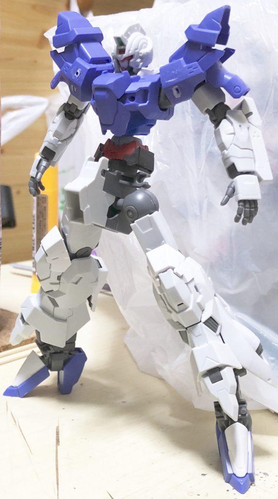 ムーンガンダム -朧- 制作工程6
