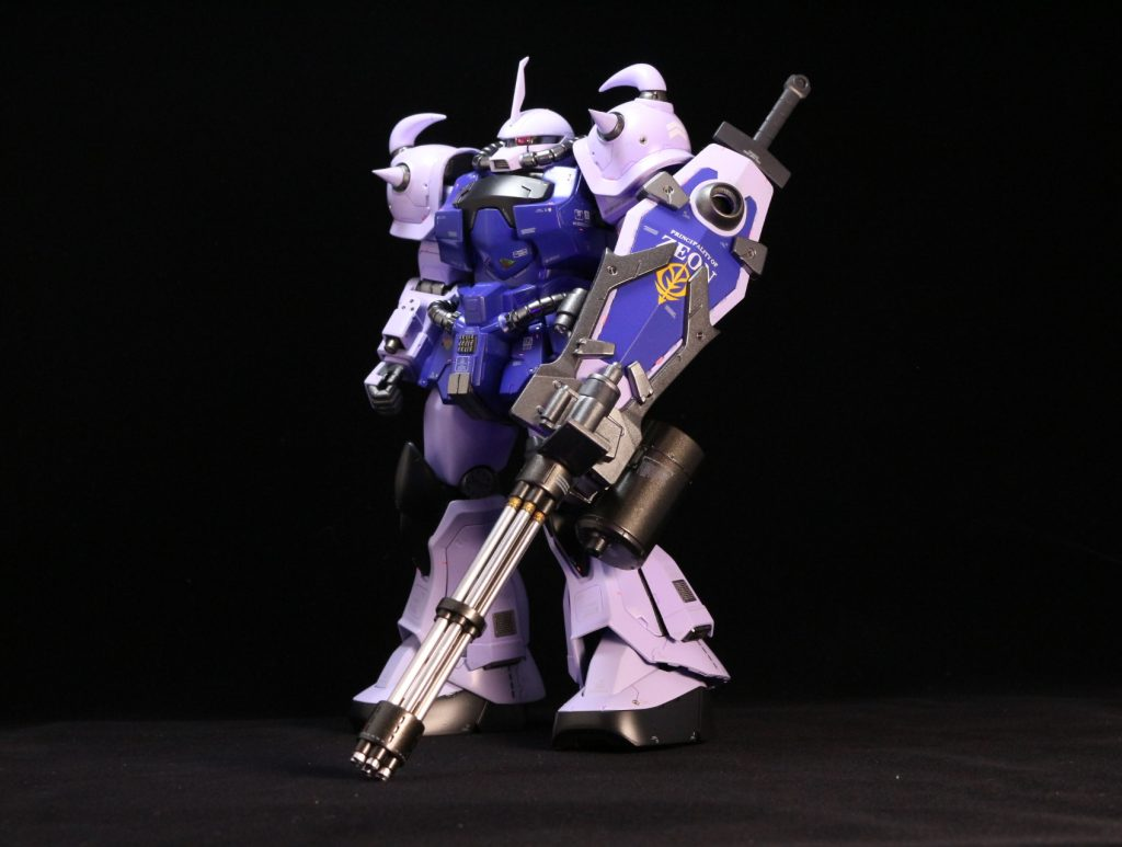 MG グフカスタム改 アピールショット1
