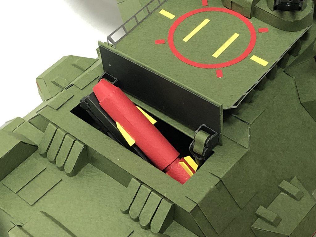 フルスクラッチ・ダブデ陸戦艇 (紙) アピールショット3
