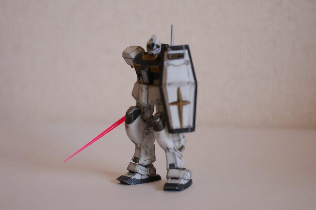 HG 1/144 ジムIII (マグノリア・マウンテン隊仕様) アピールショット2