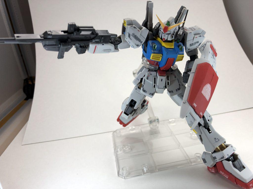 RG ガンダムMark-II アムロカラー アピールショット3