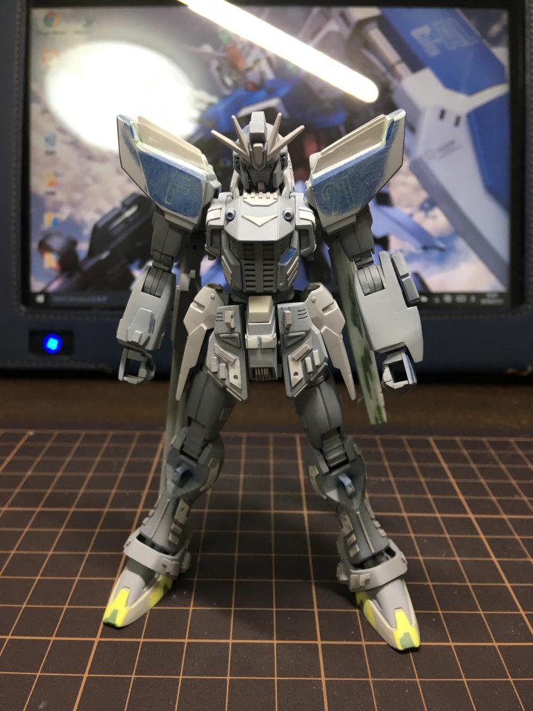ガンダムF91 制作工程3