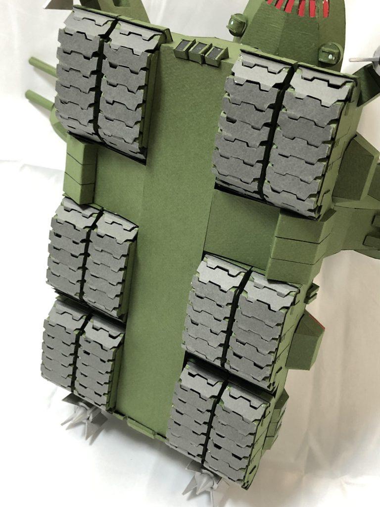 フルスクラッチ・ダブデ陸戦艇 (紙) アピールショット4