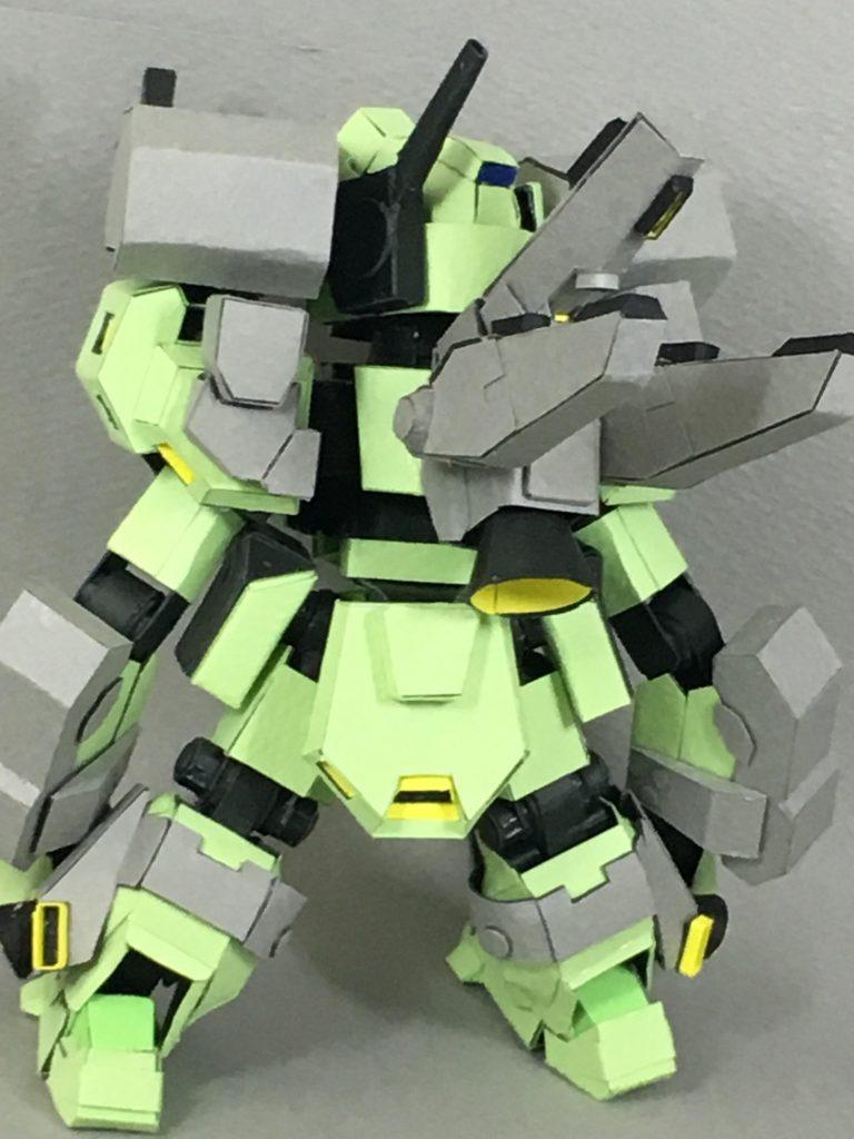 フルスクラッチ・SDスタークジェガン アピールショット2